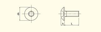 Truss Head 6-Lobe Machine Screw