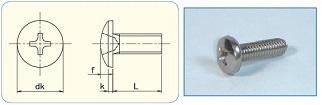 -SAIMA- Cross Recess Binding Head JIS B1111 Appendix