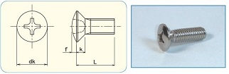 -SAIMA- Cross Recess Oval Head JIS B1111 Appendix