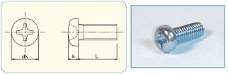 -SAIMA- Cross Recess Pan Head JIS B1111 Appendix