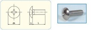 -SAIMA- Cross Recess Truss Head JIS B1111 Appendix