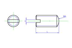Slotted set Screws Round(Oval) Point | SAIMA CORPORATION