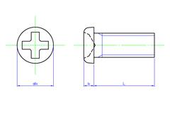 Cross Recess Pan Head Machine Screws | SAIMA CORPORATION