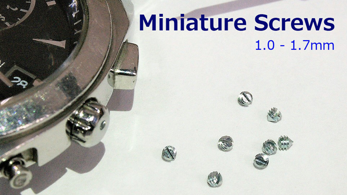 Miniature Screws(JCIS 10-70) | SAIMA CORPORATION