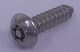 PIN-BUTTON HEAD 6-LOBE TAPPING SCREWS 3.5x13 | Tamper Resistant Fasteners