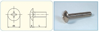 Cross Recess Truss Head Machine Screw
