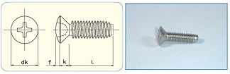 -SAIMA- Cross Recess  Oval Tapping Screw Class3 ,Type C0 [JIS B1122 Appendix]