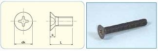 Titan Cross Recess Flat Head Machine Screw JIS B1111