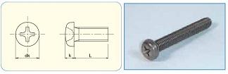 Titan Cross Recess Pan Head Machine Screw JIS B1180