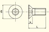PIN-FLAT HEAD<br>6-LOBE MACHINE SCREWS