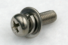 Spring&Flat Washer(JIS Small) | Machine Screws with WASHER [JIS B1188] | SAIMA CORPORATION