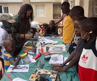 Drawing Contest in Rwanda, Africa