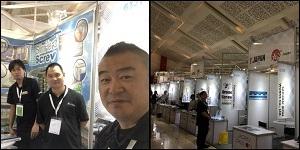 サイマコーポレーション インドネシア いたずら防止ねじ スリムヘッドスクリュー展示