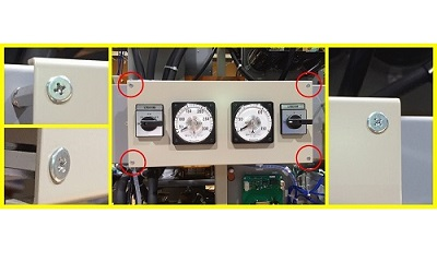 超極低頭ねじ スリムヘッドスクリュー 使用例2 | サイマコーポレーション