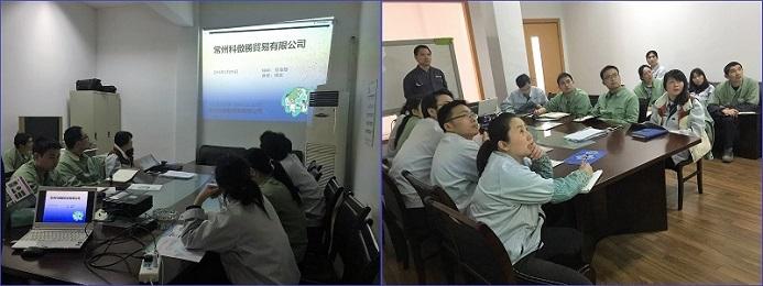 中国 常州KOAS セミナー風景